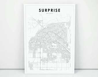 Surprise map Etsy