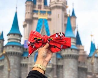 Minnie Mouse Head Wrap