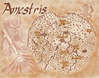 Amestris Map