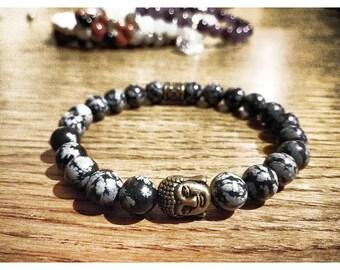 Starry Obsidian bracelet