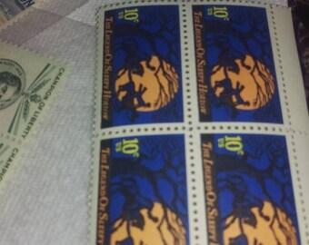 US Postage Stamps unused