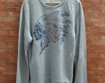 Rare!! Denim&Supply Ralph Lauren Sweatshirt Medium Size