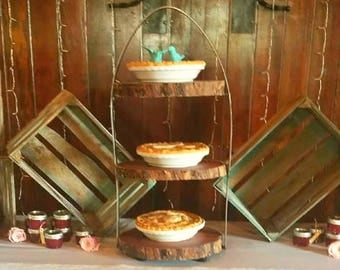 Three Tier Dessert Stand