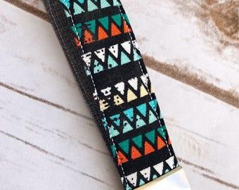 Aztec key fob / wristlet / keychain