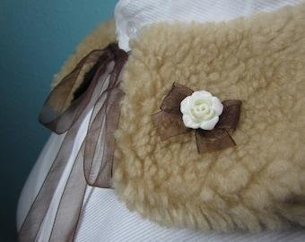 Classic lolita fur collar