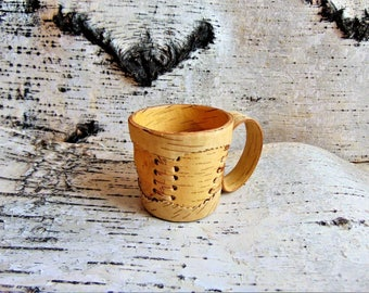 Mug of birch bark