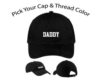 Daddy Dad Cap, Daddy Dad Hat, Dad Cap, Dad Hat, Funny Hat, Cap, Hat, Cap Daddy