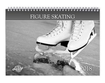 Figure Skating 2018 Wall Calendar