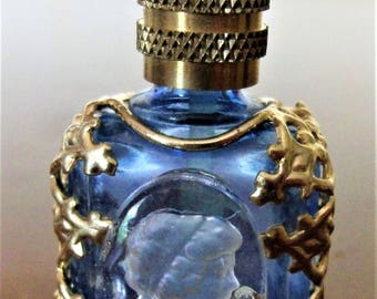 Vintage bottle of perfume collection