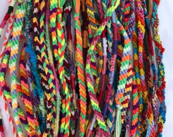 Be the friend to someones bracelet 15 for 15!  Friendship bracelets on the go