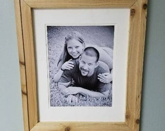 16 x 20 Cedar picture frame