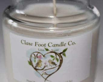 Clawfoot Candle Co Valentine Love Scent