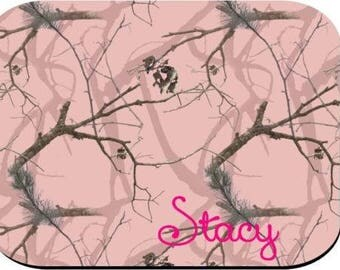 Personalized Mouse Pad - Pink Camo