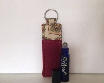 Essential Oil Roller Key Chain pouch
