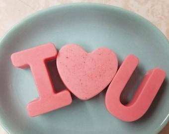I Heart U Soap