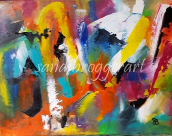 Multi Color Abstract