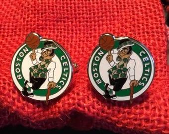 Boston Celtics Cufflinks