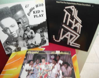 3 Vinyl Records Kid in Play, All that Jazz, Starpoint