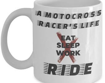 Motocross Gift, Motocross Mug, Funny Mug For Him, Funny Motocross Mug,  Funny Dirt Bike Mug, Gift For Dirt Bike Riders, Motocross Rider Mug