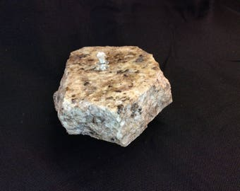 Rock candle lamp, rock oil lamp, rock decor * FREE SHIPPING*