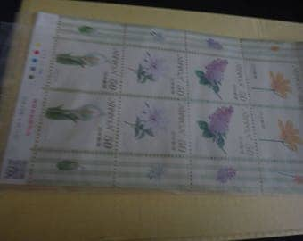 Japan flora fauna collectible stems