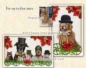Steampunk Pets - Custom Pet Photo Card