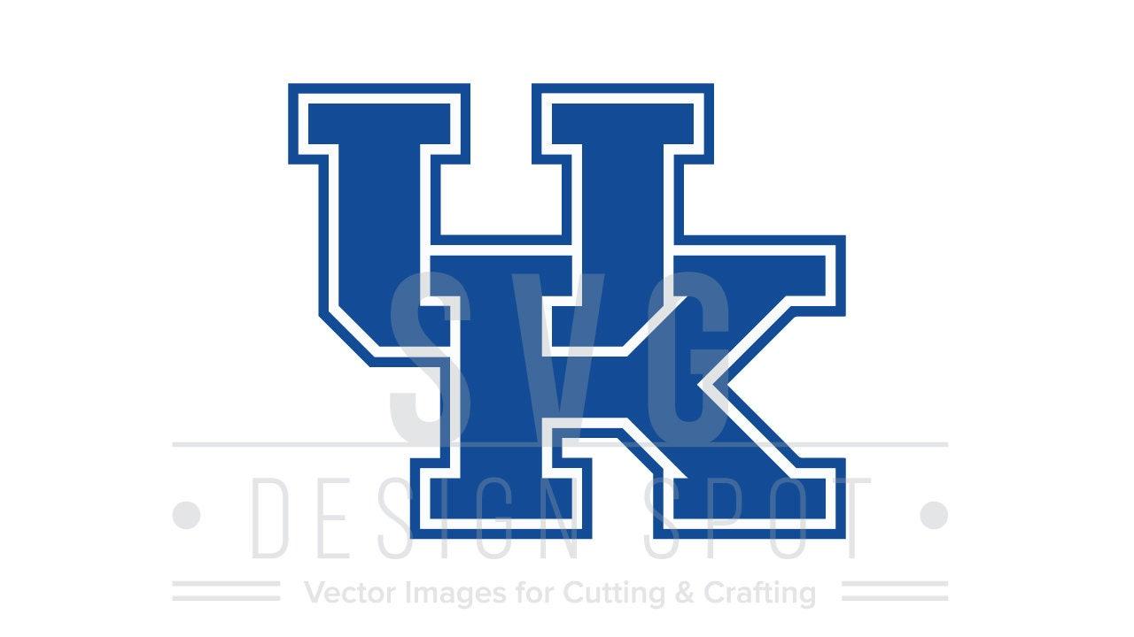 Uk Basketball Clip Art: University Of Kentucky Logo Svg, Dxf, Eps, Png