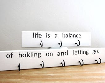 Key rack, Housewarming gift, Key holder for wall, Rumi quote sign, Key organizer, Entryway decor, Rustic key rack, Key hooks,wood key holder