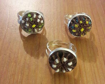 Ring fimo filaos. You can choose your color.