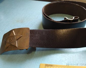 Soldier's belt, the army of the USSR