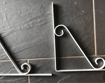 Galvanising Silver  Bracket mild steel Weather Proof Garden/indoors