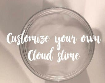 Custom 6oz Cloud Slime