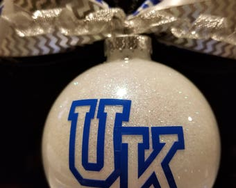 UK Cats Christmas Ornament