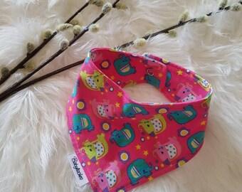 "Baby Scarf/triangle cloth ""elephant"""