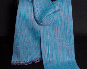 Handwoven Soy Silk Scarf
