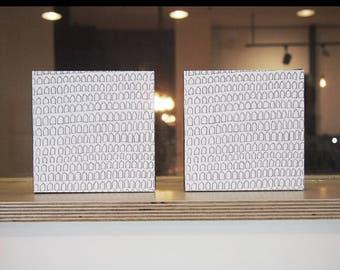 5x5 Canvas Print / Milk Milk