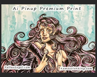 Ai Pinup Premium Print 8 x 10