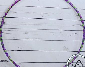 Tie Dye Taped Hoop