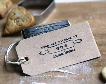 From The Kitchen Of/Baked with love by Rubber Stamp, Baking Rubber Stamp