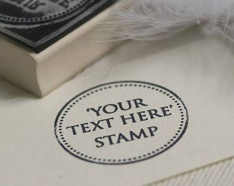 Your Custom Text Rubber Stamp