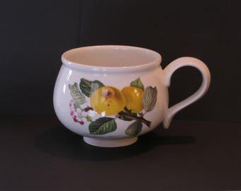 PortMeirion Pomma Breakfast Mug Made in England//The Ingestrie Pippin-Apple