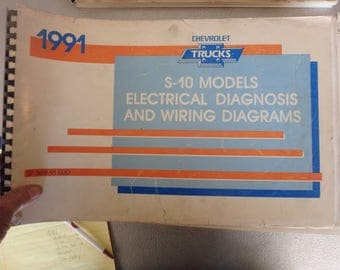 1991 chevrolet electrical diagnosis and diagrams- S-10 models