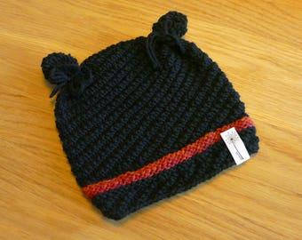 Children's cap with ears