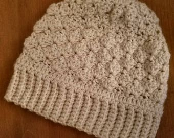 Crochet Beanie Pattern/ textured hat/ crochet beanie pattern/ crochet hat pattern/ crochet