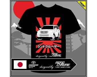 T-shirt Toyota Land Cruiser UZJ200W '07-'11