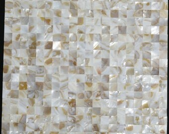 Groutless Mother of pearl wall tile seamless sea shell mosaic kitchen backsplash tile MOP010 shower wall tiles bathroom