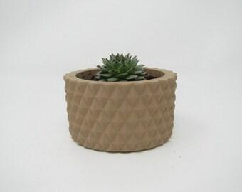 knurl surface | vase | 3D Printing | decore | planter | gift | home decor | succulent planter | office decor ! Pots