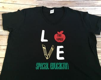 LOVE Teaching Shirt