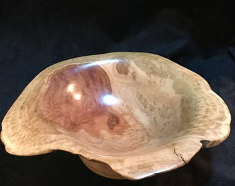 Hand Woodturned eucalyptus Red Mallee burl