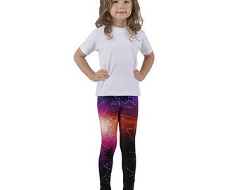 Kid's leggings Space Constellations Edition